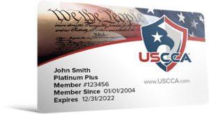 USCCA Membership: Self-Defense SHIELD Member Card