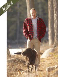 Woolrich Buffalo Check Wool Shirt