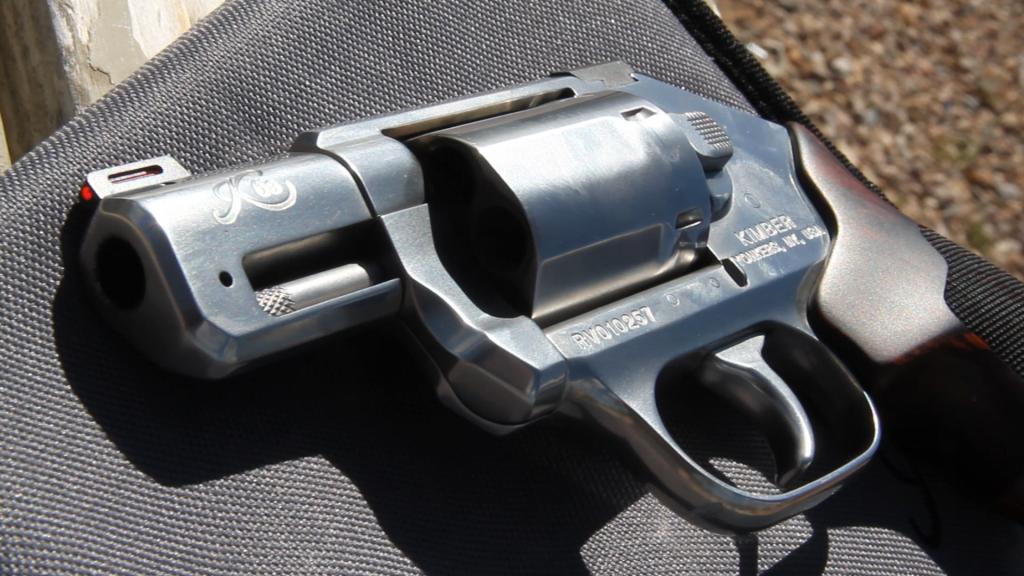 kimber K6S revolver 2