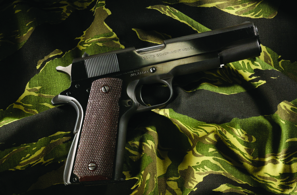 Colt Mark IV/Series 70 - 9mm. Used by Tom Selleck as Thomas Magnum (Magnum, P.I.)
