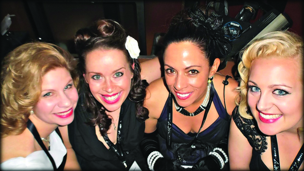 """Night out in Vegas: SHOT Show """"Hollywood Glam"""""""
