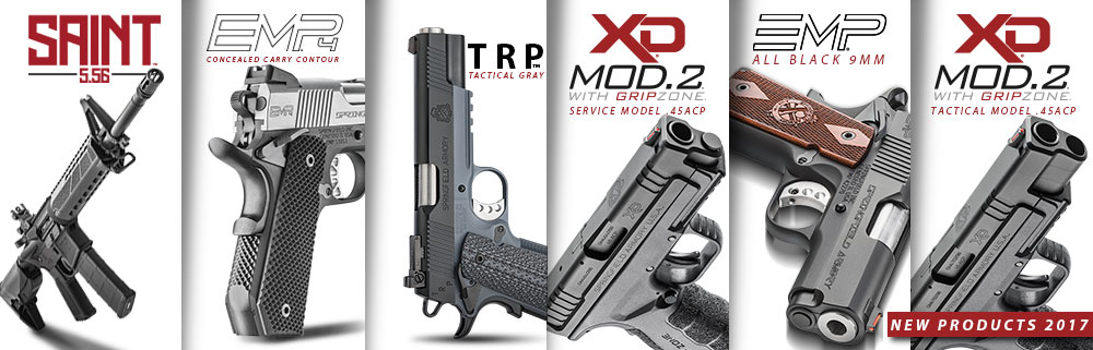 springfield armory new guns for 2017